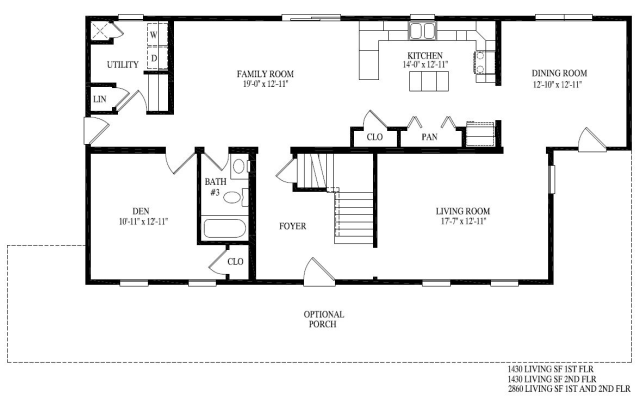 Floor plan details david dulay homes for David homes floor plans